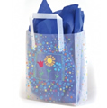 Flower Trio Frosted Bags
